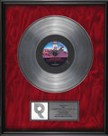 "Music Memorabilia:Autographs and Signed Items, Lenny Kravitz ""Are You Gonna Go My Way"" Platinum Album Award.Platinum sales award presented in acknowledgement of 1 millio..."