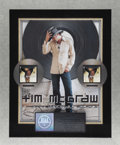 "Music Memorabilia:Awards, Tim McGraw Platinum Album Award. Double platinum award presented toKeith Greer ""to commemorate RIAA certified multi-platin..."