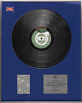 "Music Memorabilia:Awards, The Who ""Quadrophenia"" Silver Album Award. While composing""Quadrophenia"" for The Who, Pete Townshend revisited the rock op..."