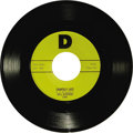 "Music Memorabilia:Recordings, The Big Bopper ""Chantilly Lace"" 45 ""D"" 1008 (1958). The Bopper'ssignature song was first released on the small ""D"" label, a..."