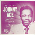 "Music Memorabilia:Recordings, Johnny Ace ""Memorial Album"" EP Duke 80 (1955). Johnny Ace had sixTop Ten R&B hits from 1952-54 prior to his tragic death in..."