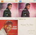 Music Memorabilia:Recordings, Sam Cooke EP Group of 4 (1957-60). Here's a fine sampling of the range and power of one of the most distinctive voices in Go...