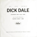 """Music Memorabilia:Recordings, Dick Dale """"Open-End Interview"""" Promo Compact 33 Capitol PRO2320-2321 (1963). We've never seen this one before! Capitol prov..."""