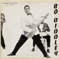 """Music Memorabilia:Recordings, """"Bo Diddley"""" Mono EP Chess 5125 (1958). It's hard to believe that one of Rock's most influential songwriters/vocalists/guita..."""