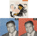 Music Memorabilia:Recordings, Fats Domino Mono EP Group of 3 Imperial 139/145/146 (1956).Imperial capitalized on Fats' immense popularity in 1956 by rele...(Total: 3 Items)