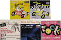 "Music Memorabilia:Recordings, Bill Haley ""Shake, Rattle and Roll"" and Others EP Group of 5 Decca(1954-67). This great lot has Haley's first three Decca E..."