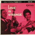 """Music Memorabilia:Recordings, Mickey and Sylvia """"Love Is Strange"""" EP Groove 18 (1956). The titlesong was one of the '50s Rock/ R&B classics, a #11 Pop hi..."""