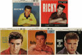 Music Memorabilia:Recordings, Ricky Nelson EP Group of 5 (1957-59). For a few years after theteenager broke onto the recording scene in 1957, only Elvis ...