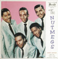 """Music Memorabilia:Recordings, """"The Nutmegs"""" EP Herald 452 (1960). The Nutmegs are one of severalgreat '50s R&B groups who recorded on the Herald label an..."""