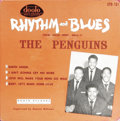 """Music Memorabilia:Recordings, """"The Penguins"""" EP Dootone 101 (1955). The classic """"Earth Angel"""" wasthe second R&B/doo-wop record to cross over to Billboard..."""