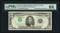 Error Notes:Inverted Third Printings, Fr. 1973-H $5 1974 Federal Reserve Note. PMG Choice Uncirculated64.. ...