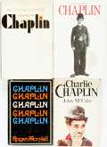 Books:Biography & Memoir, Charlie Chaplin, subject. Group of Four Biographies. Variouspublishers and dates.... (Total: 4 Items)