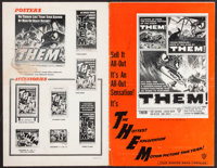 """Them! (Warner Brothers, 1954). Uncut Pressbook (20 Pages, 11"""" X 17""""). Science Fiction"""