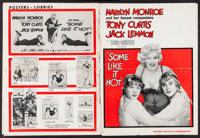 """Some Like It Hot (United Artists, 1959). Uncut Pressbook (20 Pages, 13.25"""" X 18""""). Comedy"""