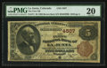 National Bank Notes:Colorado, La Junta, CO - $5 1882 Brown Back Fr. 471 The First NB Ch. # 4507....