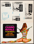 "Movie Posters:James Bond, Casino Royale (Columbia, 1967). Pressbook (20 Pages, 11"" X 17"")& Ad Supplement (12 Pages, 11"" X 17""). James Bond.. ... (Total:2 Items)"