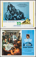"""Movie Posters:Crime, Across 110th Street & Others Lot (United Artists, 1972). HalfSheets (4) (22"""" X 28""""). Crime.. ... (Total: 4 Items)"""
