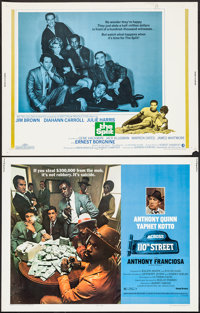 "Across 110th Street & Others Lot (United Artists, 1972). Half Sheets (4) (22"" X 28""). Crime. ... (Tota..."