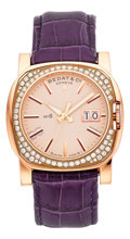 Estate Jewelry:Watches, Bedat & Co. Lady's Diamond, Pink Gold No. 8 Watch. ...