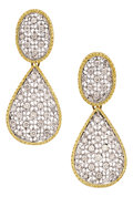 Estate Jewelry:Boxes, Diamond, Gold Earrings. ...