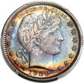 Proof Barber Quarters, 1900 25C PR67 PCGS....