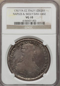 Italy, Italy: Naples & Sicily Pair of Scarcer Certified Crowns,...(Total: 2 coins)