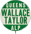 Political:Pinback Buttons (1896-present), Henry A. Wallace: Scarce New York-issue Pin....
