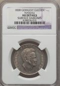 German States:Nassau, German States: Nassau United Lines. Wilhelm Certified Coin Duo,... (Total: 2 coins)