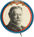 Political:Pinback Buttons (1896-present), William Howard Taft: Handsome Portrait Button, in rare large size....