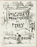 Books:Art & Architecture, [Art]. Eugene Berman. SIGNED/LIMITED. Imaginary Promenades in Italy. Pantheon Books, [1956]....