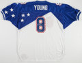 """Football Collectibles:Uniforms, Steve Young """"HOF 2005"""" Signed Pro Bowl Jersey...."""