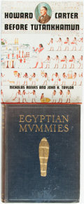 Books:World History, Two Books on Egyptology, including: G. Elliot Smith and Warren R.Dawson. Egyptian Mummies...with Woodcuts by A. Hor... (Total: 2Items)