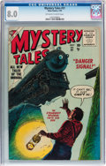 Golden Age (1938-1955):Science Fiction, Mystery Tales #31 (Atlas, 1955) CGC VF 8.0 Off-white to whitepages....