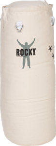 "Movie/TV Memorabilia:Memorabilia, A Punching Bag Related to ""Rocky Balboa"" (aka ""Rocky VI"")...."