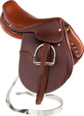 Movie/TV Memorabilia:Memorabilia, A Hermes Miniature Polo Saddle....