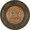 "Movie/TV Memorabilia:Props, A Prop State Athletic Seal from ""Rocky Balboa"" (aka ""Rocky VI"")...."