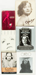 Books:Biography & Memoir, Greta Garbo, subject. Group of Six Biographies. Various publishers and dates.... (Total: 6 Items)