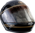 "Movie/TV Memorabilia:Costumes, A Motorcycle Helmet from ""Rocky III.""..."