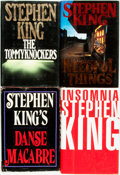 Books:Horror & Supernatural, Stephen King. Group of Four Titles. Various publishers anddates.... (Total: 4 Items)