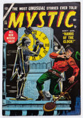 Golden Age (1938-1955):Horror, Mystic #36 (Atlas, 1955) Condition: VG/FN....