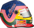 Movie/TV Memorabilia:Memorabilia, A Jacques Villeneuve Racing Helmet, 1998....