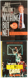 Books:Biography & Memoir, [Sports]. Bill Walton, subject. Pair of Biographies, One of Which is INSCRIBED by Walton. Various publishers and dates.... (Total: 2 Items)
