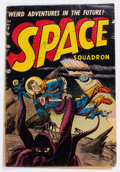 Golden Age (1938-1955):Science Fiction, Space Squadron #5 (Atlas, 1952) Condition: GD+....