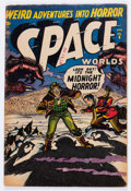 Golden Age (1938-1955):Science Fiction, Space Worlds #6 (Atlas, 1952) Condition: GD/VG....