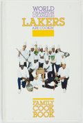 Books:Food & Wine, [Food, Sports]. Los Angeles Lakers. SIGNED. World Champion LosAngeles Lakers are Cookin': Family Cook Book. [Da...