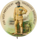 Political:Pinback Buttons (1896-present), Theodore Roosevelt: Classic Vice Presidential Button....