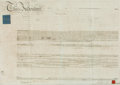 Autographs:Non-American, Land Indenture in the Reign of George The Fourth. Manuscript on parchment. Dated December 22, 1827. ...