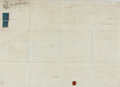Autographs:Non-American, Land Indenture in the Reign of George The Third. Manuscript onparchment. Dated June 24, 1797. ...