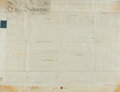 Autographs:Non-American, Land Indenture in the Reign of George The Third. Manuscript onvellum. Dated February 3, 1790. ...