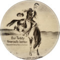 Political:Pinback Buttons (1896-present), Theodore Roosevelt: Desirable Bronco Button....